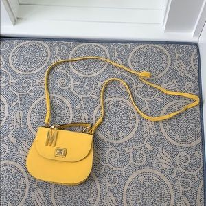 Vintage Moschino Yellow Mini Bag